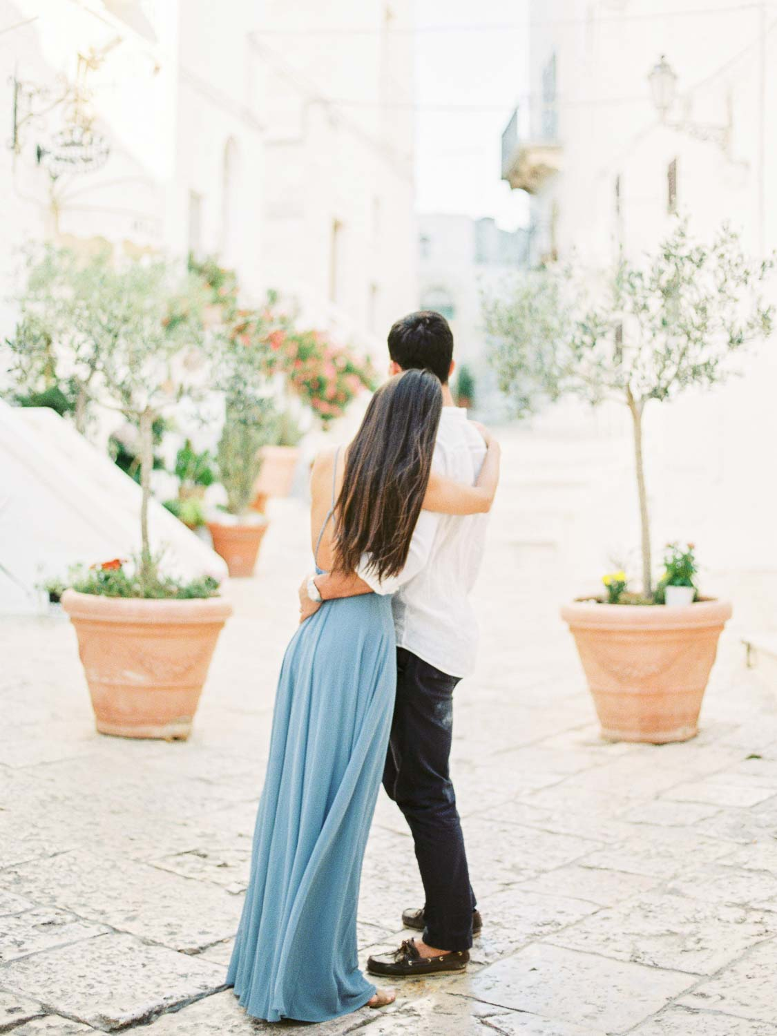 engagement in Ostuni